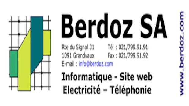 Logo de l'entreprise : Berdoz SA