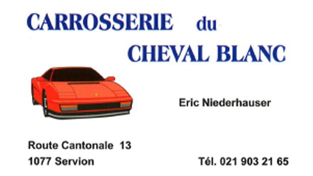 Logo de l'entreprise : Carrosserie Cheval Blanc