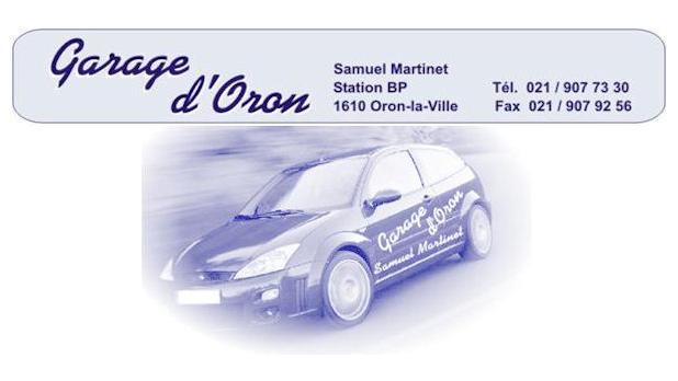 Logo de l'entreprise : Garage d'Oron