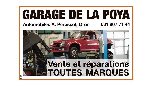 Logo de l'entreprise : Garage de la Poya